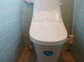 ライファ今治:和式トイレを節水式洋式シャワートイレへ