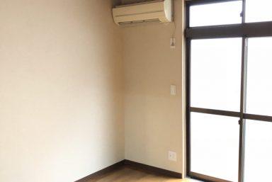 ライファ今治:和室の土壁からから洋室のクロス壁にリフォーム!!