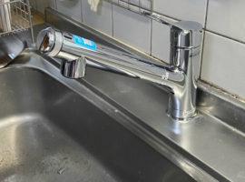 ライファ今治:LIXILの新商品、AJタイプの水栓金具に取替えました。