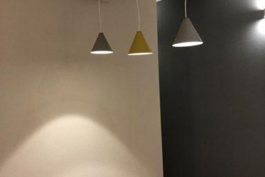 ライファ今治:LDKリフォーム工事。クロス貼り替え、こだわった照明器具に取り替えしました。