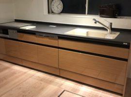 ライファ今治:キッチンリフォームの完成です。LIXIL「リシェルSI」仕様とサイズのバリエーションが豊富。