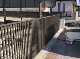 ライファ今治:LIXIL「ワイドオーバードアS2型」の設置工事完了しました。