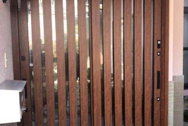 ライファ今治:LIXILの「リシェント」で玄関ドアをささっと1dayリフォーム。