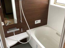 ライファ今治:浴室リフォーム工事。タイル張りのお風呂から快適なLIXIL「アライズ」