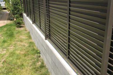 ライファ今治:隣家との境界ブロックフェンス設置