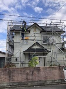 今治市 外壁塗装 屋根塗装 ドローン屋根点検 ライファ今治 雨漏り修理