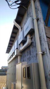太陽光設置倉庫の写真