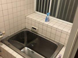 ライファ今治:浴室改修工事、解体から配管・配線、コンクリート打ちまで。