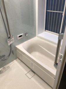 今治 LIXIL スパージュ お風呂リフォーム リフォーム リノベーション 洗面所リフォーム 床クッションフロア張り替え ライファ今治