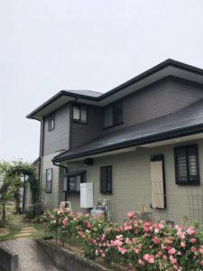 今治外壁塗装 屋根外壁塗装 今治 ライファ今治 アステックペイント 今治外壁塗装 施工例