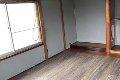 ライファ今治:和室リフォーム工事。床・壁・天井・押入れ