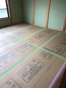 今治リフォーム ライファ今治 和室のリフォーム 畳からフローリング