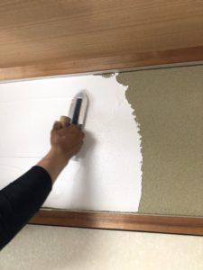 和室リフォーム 和室壁 珪藻土塗り今治 今治リフォーム ライファ今治