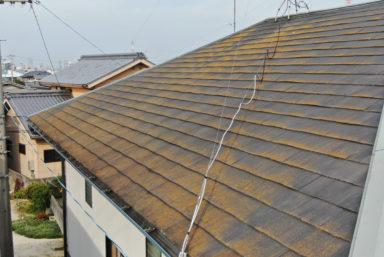 ライファ今治:最近のドローン屋根点検の様子です。