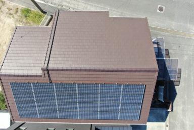 ライファ今治:最近の屋根ドローン調査写真(火災保険申請)